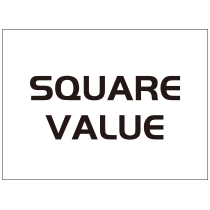 SQUARE VALUEのロゴ